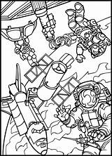 Space Coloring Pages Lego Outer Printable Print Getcolorings Colorings sketch template