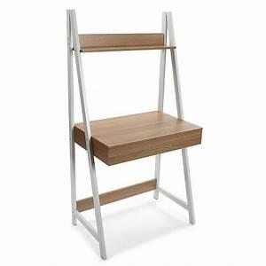 Bureau Avec étagère : table bureau avec etagere versa olympia 21300008 ~ Carolinahurricanesstore.com Idées de Décoration