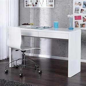 Schreibtisch Weiß Schubladen : schreibtisch sekret r tisch senseo weiss hochglanz 2 schubladen breite 120cm ebay ~ Orissabook.com Haus und Dekorationen