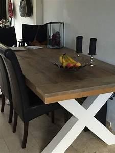 Schiebegardine 300 Cm Lang : eetkamertafel 90 cm breed tot 300 cm lang met houten x poten r de b meubels op maat ~ Markanthonyermac.com Haus und Dekorationen
