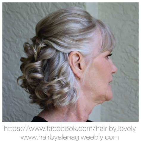 bridal hair wedding hair mother groom wedding