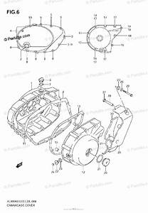 Suzuki Motorcycle 2006 Oem Parts Diagram For Crankcase