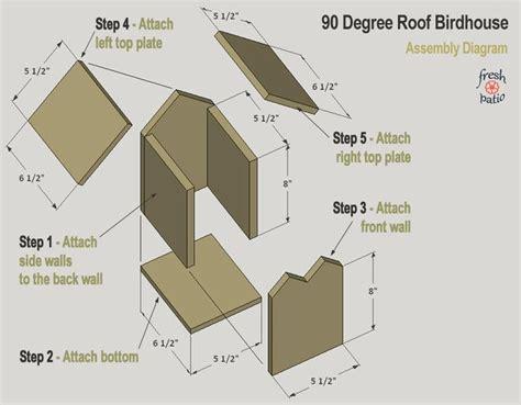 diy birdhouse plans built   simple  drilling designs bird houses diy bird
