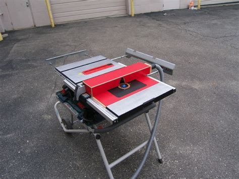 Julian Tracy Router Table For Bosch 4100 Table Saw By