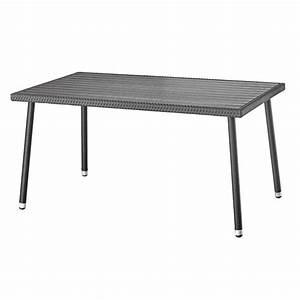 Polyrattan Tisch 60x60 : gartentisch polyrattan schwarz ~ Buech-reservation.com Haus und Dekorationen