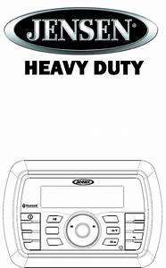 Sounding Audio Jhd40bt Heavy Duty Radio With Am  Fm  Usb