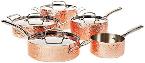 copper cookware sets   copper pots pans reviews