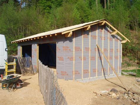 construire garage soi meme construire garage en bois soi meme m me un atelier