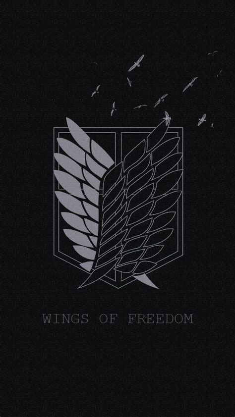 shingeki  kyojin scouting legion wings  freedom