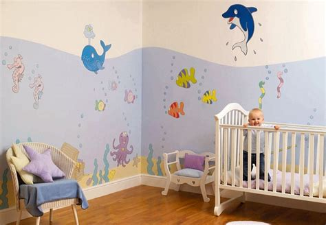 decoration chambre bébé garçon idées peinture chambre bébé bébé et décoration chambre