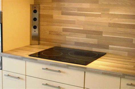 cuisines hardy crédence en stratifié protéger et décorer le mur de cuisine