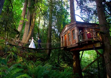 Treehouse Point Wedding Venue  The I Do Moment