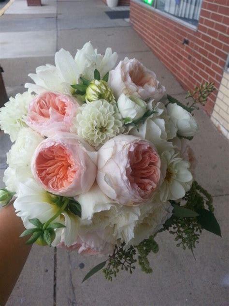 david austin juliet roses bouquet bouquets wedding