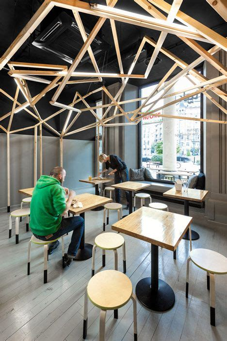 interesting  eclectic food court designs