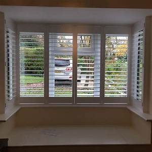 Square Bay Shutters Fitted In Winchester