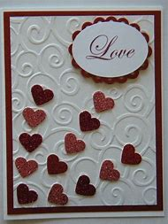 stampin up card valentines day - Stampin Up Valentine Cards