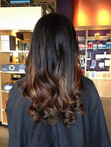 black hair with light brown ombre   Hair   Pinterest ...