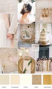 Champagne wedding colors schemes | Color Palettes