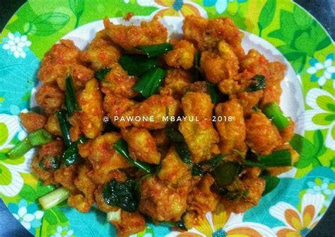 Masukan air & sisa bahan lain nya. Resep Ayam Rica Kemangi oleh Pawone_mbayul - Cookpad