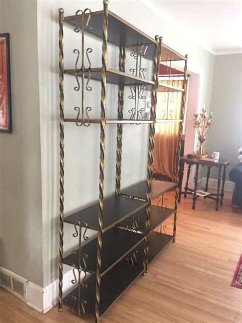 Gold Etagere by Value Of Gold Gilt Etagere Bookcases Thriftyfun