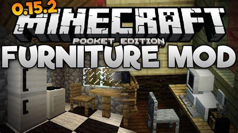 furniture decorations  mcpe  furniture mod