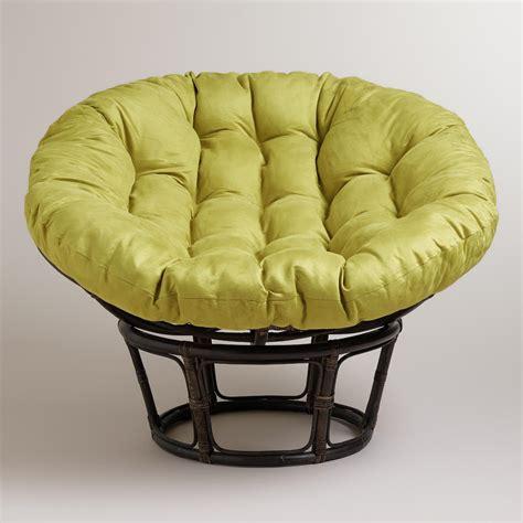 papasan chair frame world market fresh yellow kitchen chair cushions taste