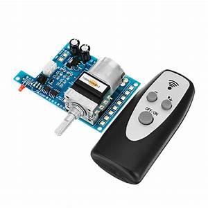 Ac  Dc 9v Infrared Remote Control Volume Controller Board