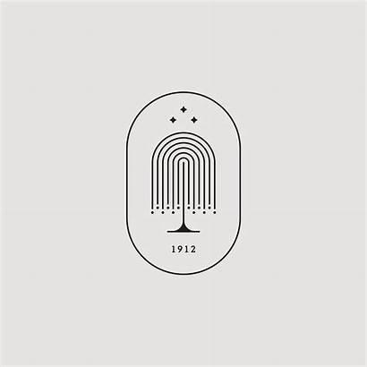 Minimal Instagram Island Branding Illustration