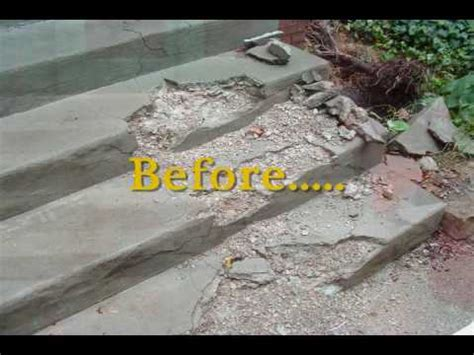 columbus ohio concrete step and stair repair recommend