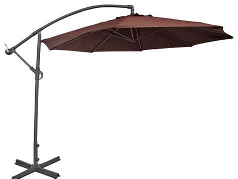 abba patio cantilever patio umbrella w cross base and