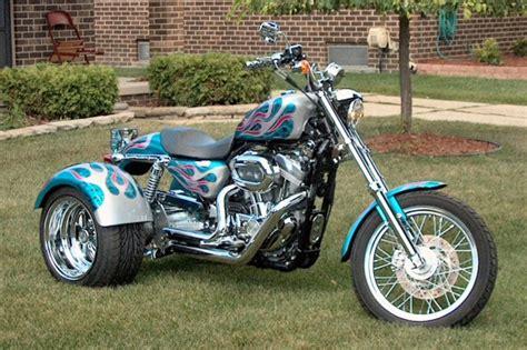 2005 Harley Sportster Custom 3 Wheeler Motorcycle