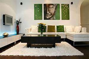 une idee deco de salon moderne est une inspiration pour l With tapis jonc de mer avec canape angle appui tete