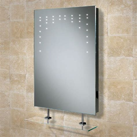 Bathroom Mirror With Shelf And Light by Hib 73105200 Bathroom Led Mirror Shaver Socket