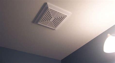 ventilateur de chambre de bain ventilateur geste rénovation écohabitation