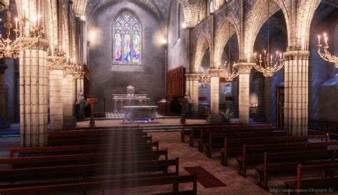 Church Environment UDK ver 2 by amaterasu111 on DeviantArt