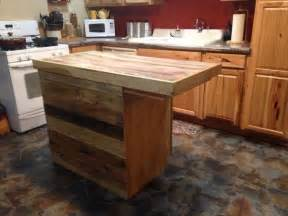 rolling kitchen islands recycled pallet kitchen island table ideas pallet wood