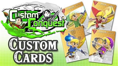 We did not find results for: Custom Conquest #16 - Make your own Custom amiibo Cards - YouTube