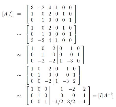 matrix inverse berechnen berechnen sie die inverse matrix
