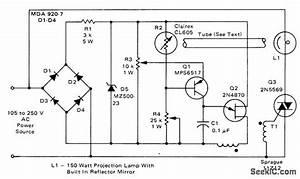 Projection Lamp Voltage Regulator - Control Circuit - Circuit Diagram