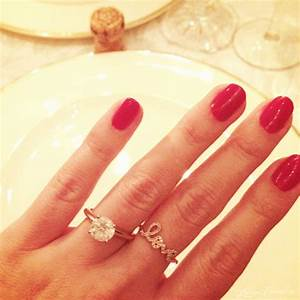 We39re engaged lauren conrad for Lauren conrad wedding ring