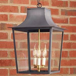 Georgian, Outdoor, Hanging, Lantern, -, 3, Light