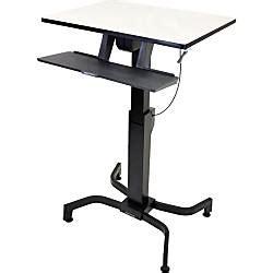 office depot standing desk ergotron workfit pd sit stand desk by office depot officemax