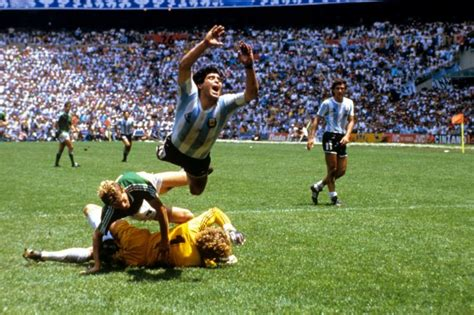 soccer world cup mexico  final argentina  west