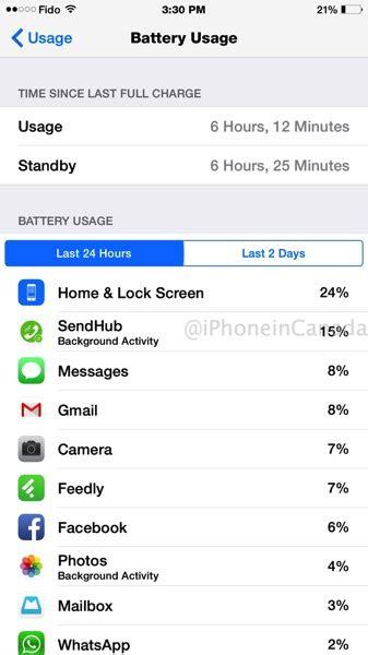 iphone 6 plus battery drain causes excessive heat ios 8