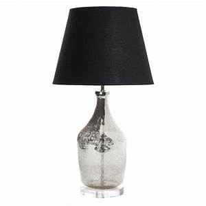 small fortuna mercury glass bottle lamp base emac lawton With fortuna metal floor lamp