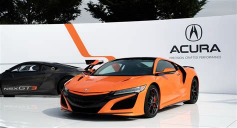 acura nsx debuts  monterey car week order books  open carscoops