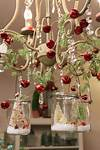 christmas decoration Awesome Ornamented Christmas Chandeliers For Unforgettable Family Moments