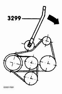 1998 Volkswagen Golf Serpentine Belt Routing And Timing