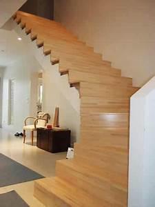 Habillage Escalier Bois : parquets et escaliers perret sas ~ Dode.kayakingforconservation.com Idées de Décoration