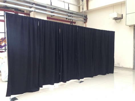adjustable pipe and drape adjustable backdrop kit 8 ft x 20 ft 50 ft